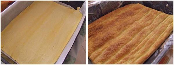foaie coapta de aluat foietat