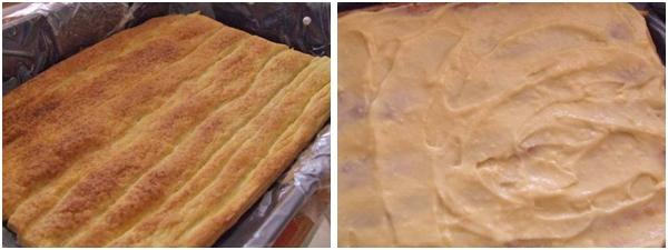 prajitura asamblata in forma