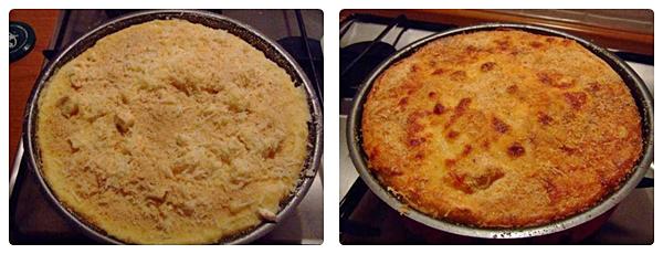 tarta de cartofi scoasa din cuptor