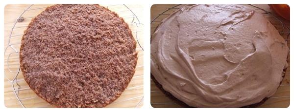 Asamblare Tort de ciocolata cu mousse de ciocolata