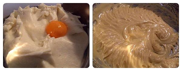 Rulada cu crema de branza - amestec