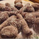 Bomboane din Piscoturi si Nutella