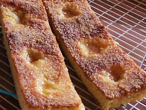 Focaccia dulce Fiamminga - detaliu final