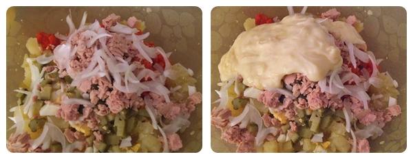 Salata de cartofi amestec ingrediente