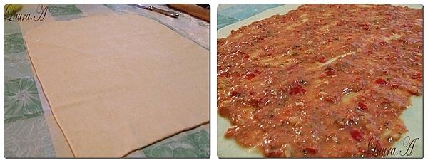 Rulouri cu Mozzarella preparare