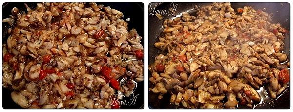 Cosulete de cartofi umplute cu ciuperci