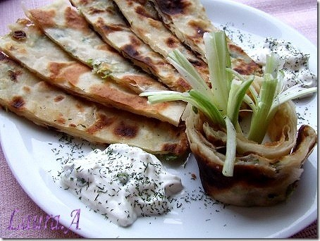 Scallion Pancakes detaliu