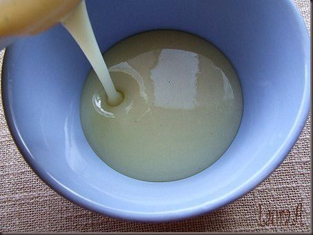 Lapte condensat