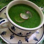 Supa crema de frunze de ridichi