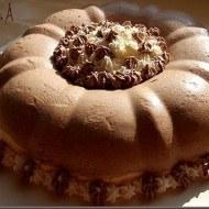 Bavareza cu ciocolata si vanilie