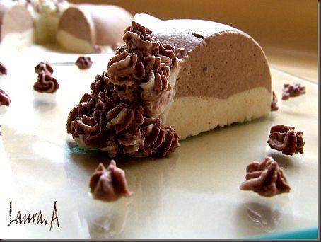 Felie bavareza ciocolata