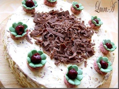 tort cu ciocolata si cirese (12)