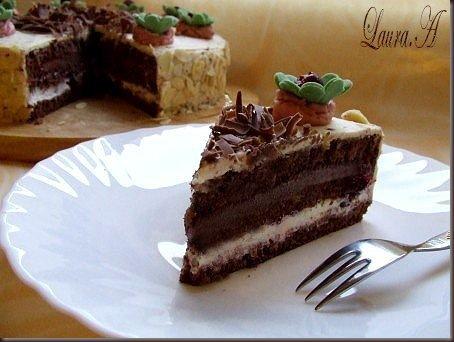tort cu ciocolata si cirese (6)
