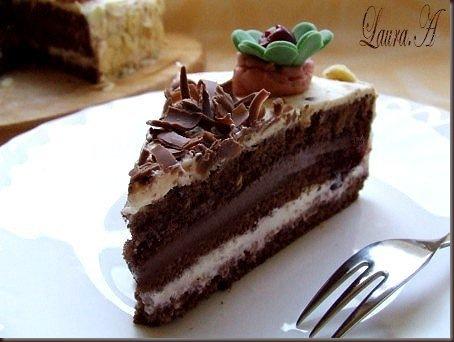 tort cu ciocolata si cirese (9)
