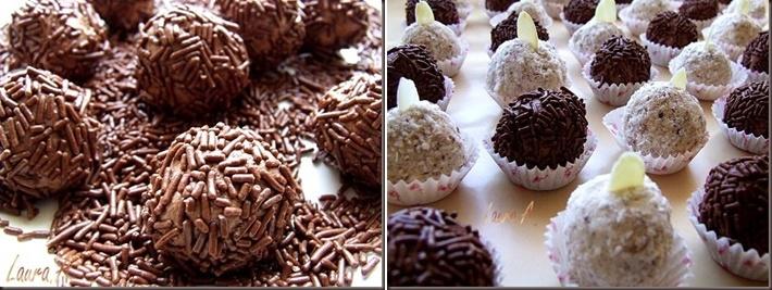 Trufe de ciocolata preparare