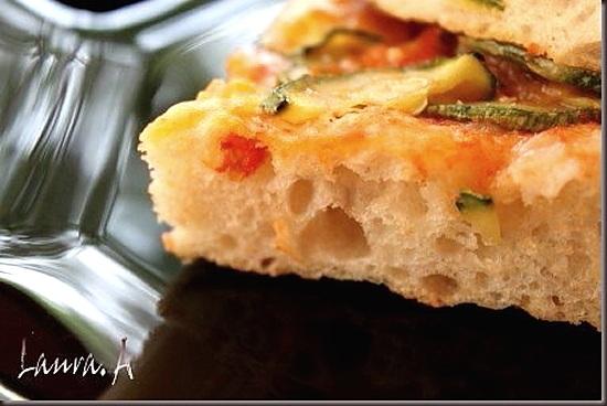 Sectiune pizza zucchini