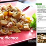 Salata de orez cu pui, ardei si porumb