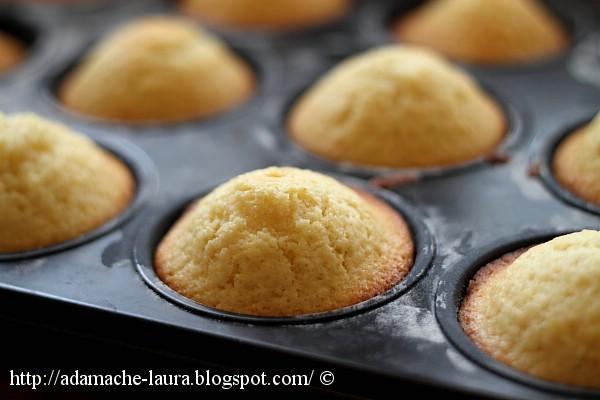 Doughnut muffins - detaliu muffin