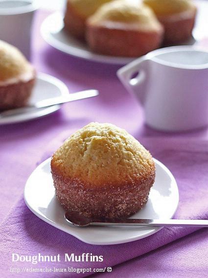 Doughnut muffins - reteta culinara