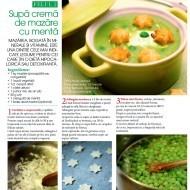 Retete Culinare Revista Femeia – Supa crema de mazare si menta