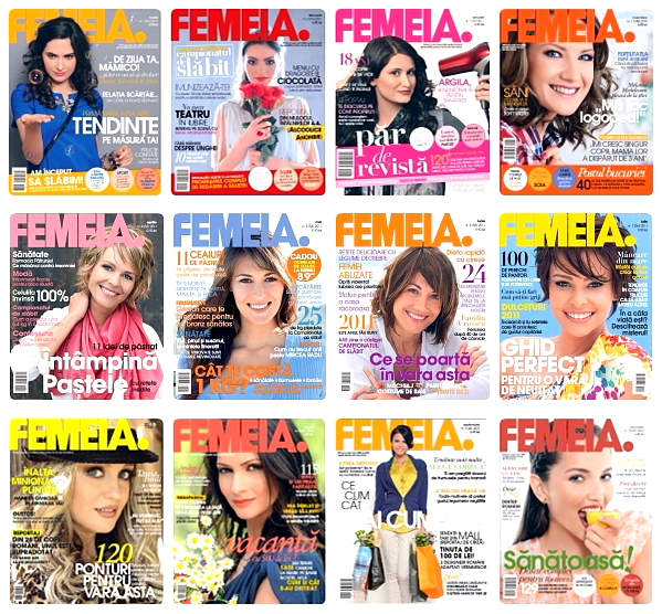 Revista Femeia 2010 - 2011