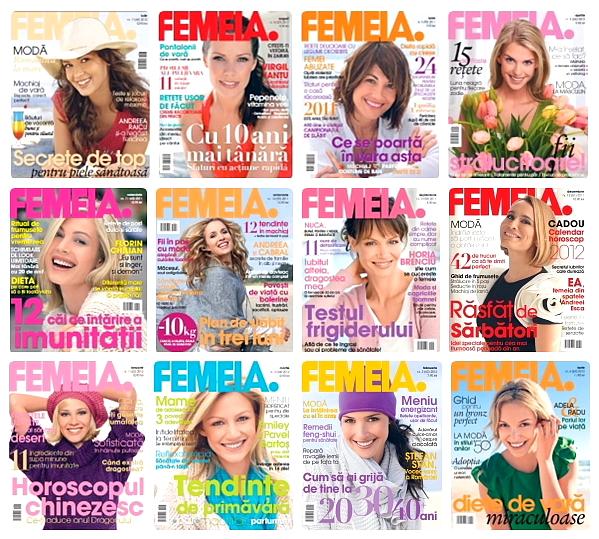 Revista Femeia 2011 - 2012