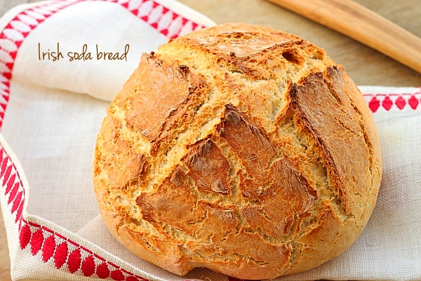 Paine irlandeza - Irish soda bread