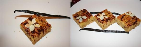 Prajitura cu pudra de migdale si miere de albine - Dudu Lenuta
