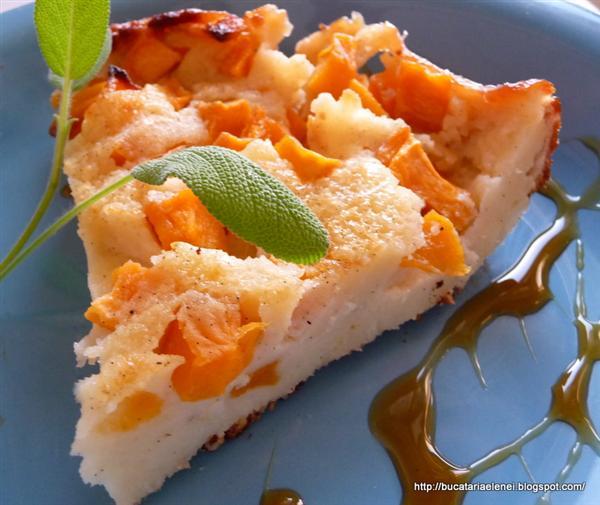 Clafoutis cu dovleac - Reteta propusa de Bucataria Elenei