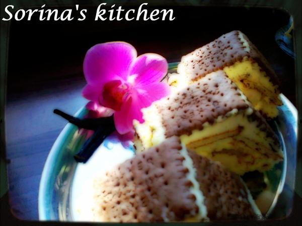 Piramide cu banane si vanilie - Reteta propusa de Sorina Kitchen