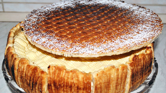 Tort millefeuille - Reteta propusa de Gourmandino