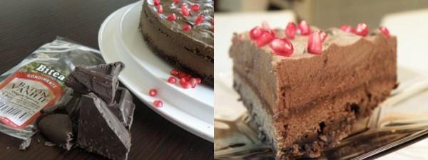 Tort mousse de ciocolata, cafea si praline -Reteta propusa de Lorena Ignatescu