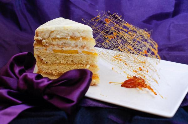 Tort de mango si vanilie - Reteta propusa de Kiss The cook