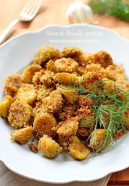 Varza de Bruxelles gratinata - lauraadamache.ro