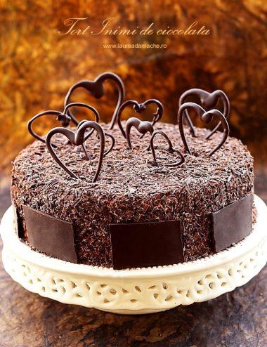 Tort Inimi de ciocolata