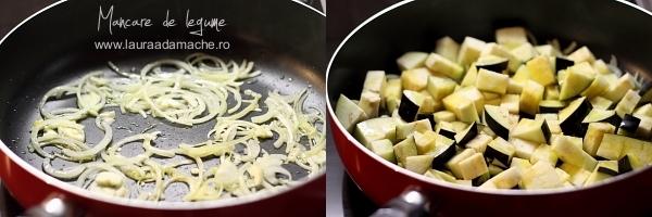 Mancare de legume cu sos de soia - calire