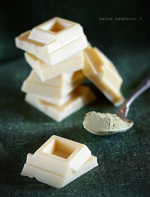 Ciocolata alba pentru crema ganache