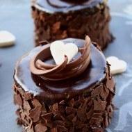 Mini torturi de ciocolata