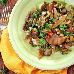 salata-picanta-cu-ciuperci-pleurotus