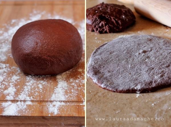 Pasca cu branza si ciocolata - aluat