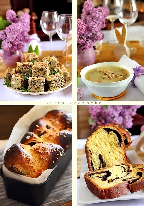 Drob de miel, cozonac  - Masa de Pasti
