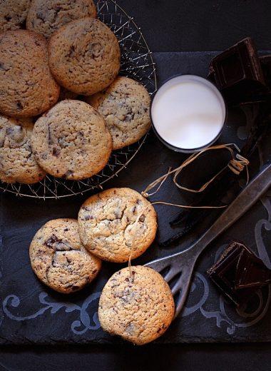 Chip cookies detail
