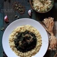 Mancare indiana cu spanac si miel – Saag Gosht