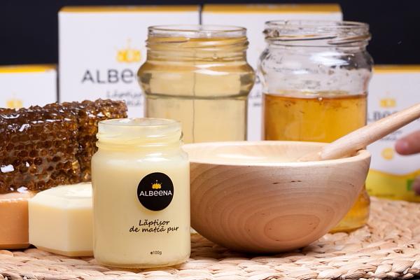 Laptisor-de-matca-Albeena-miere