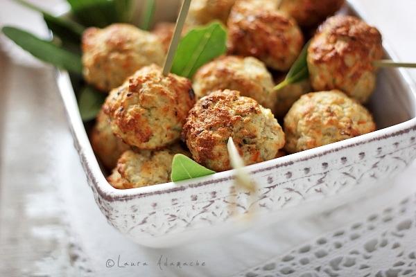 Chiftelute de peste la cuptor