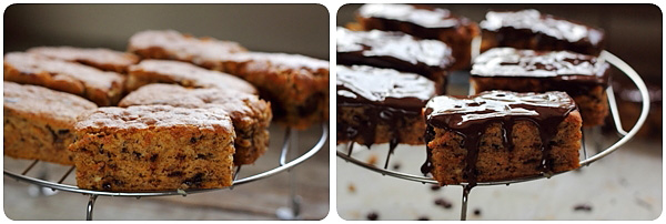 Prajitura cu dovleac si ciocolata - glazura de ciocolata