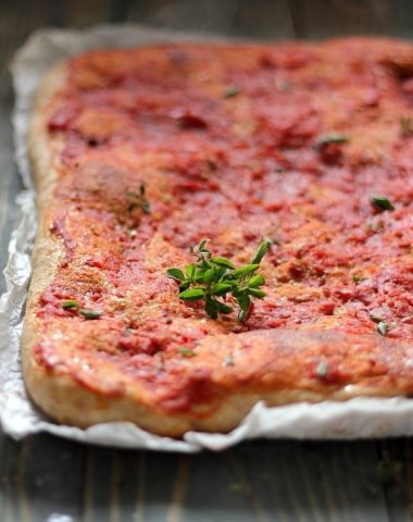 Pizza cu faina integrala