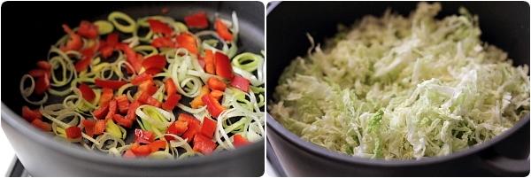 Mancare de Varza Dulce de Post - preparare varza, legume