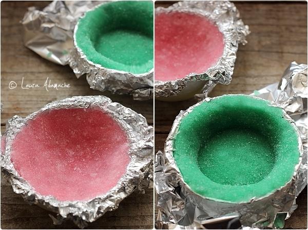 Cosulete colorate de zahar