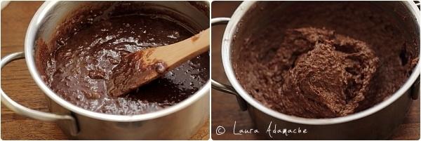 Bomboane de ciocolata si  nuca de cocos preparare